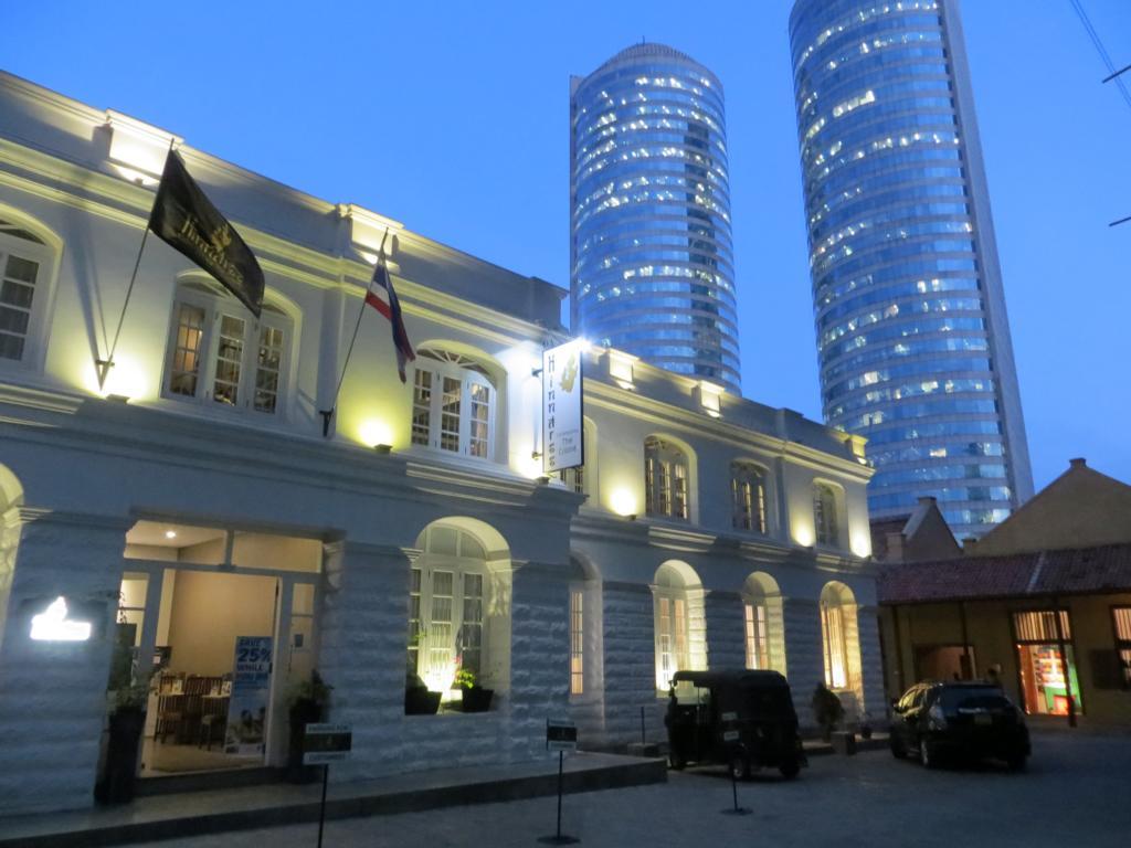 Colombo bei Nacht