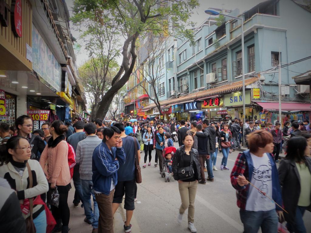 China - nie alleine und immer eine Reisebekanntschaft in Sicht