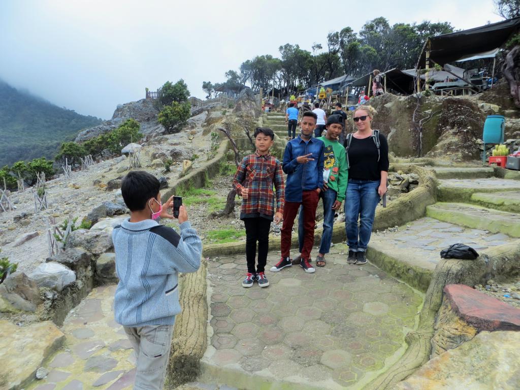 In Indonesien wollen alle ein Foto