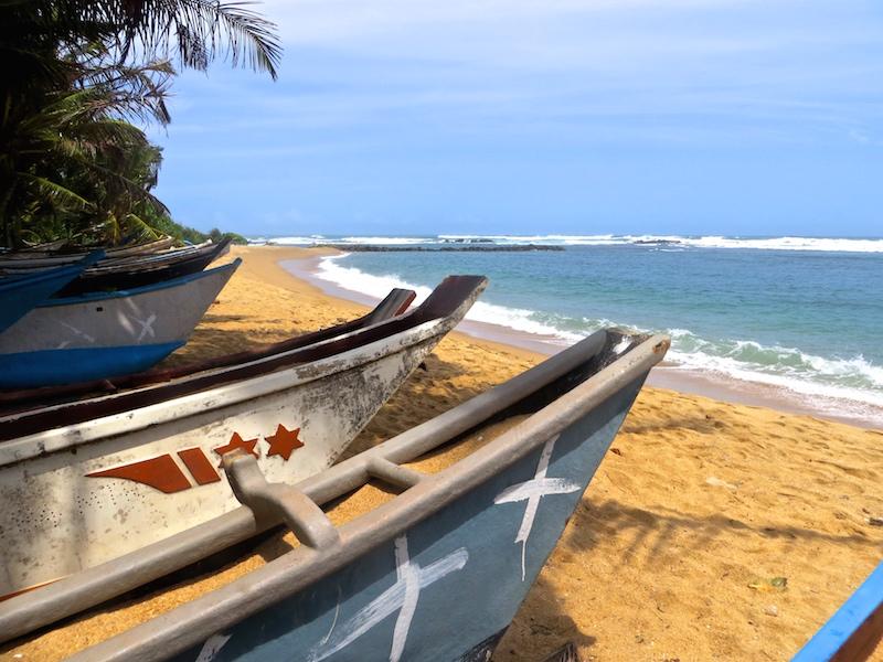 Mirissa: Traumstrand auf Sri Lanka.