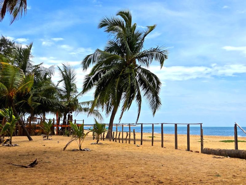 Die Arugam Bay in Sri Lanka.