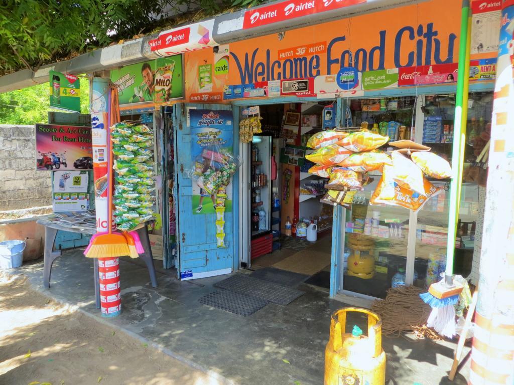 Auch in der Arugam Bay gibts alles zu kaufen