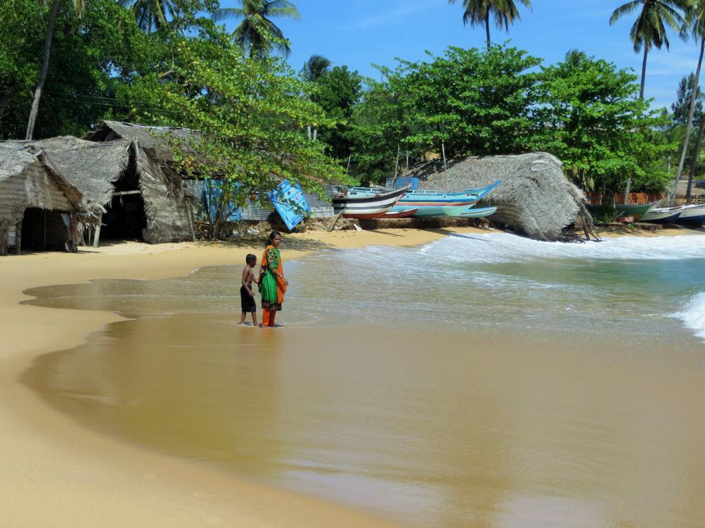 Die Arugam Bay in Sri Lanka