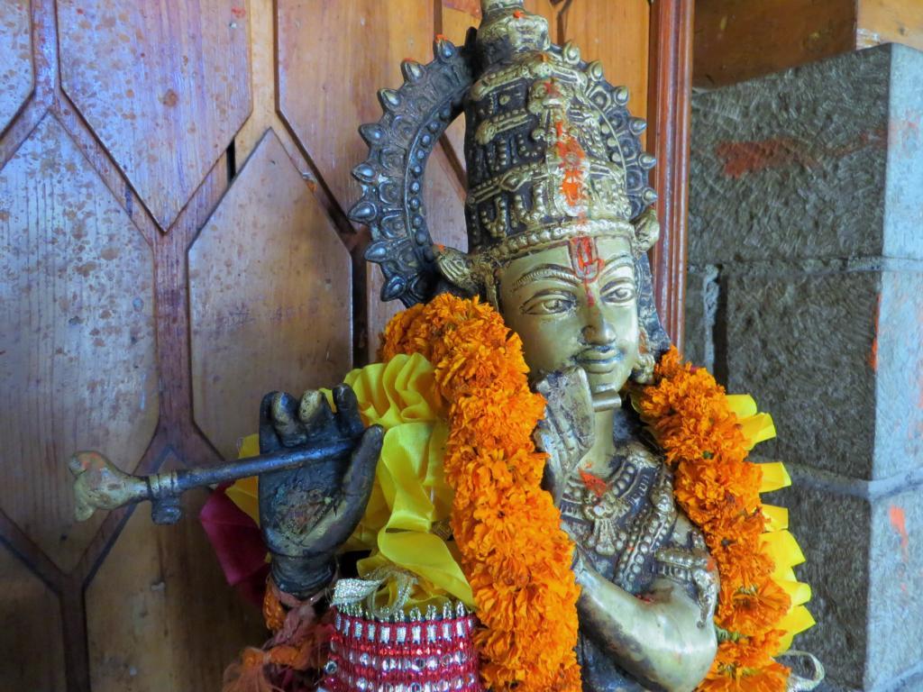 Indische Gottheit in Manali