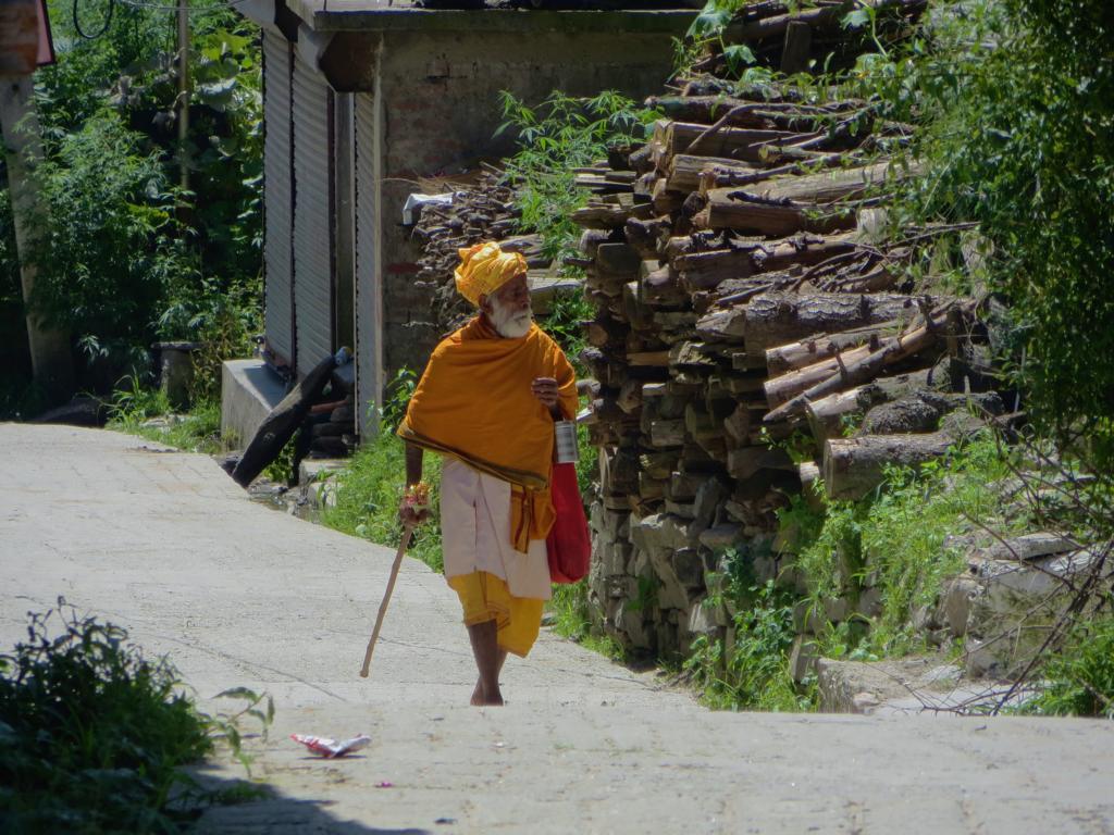 Pilger in Manali