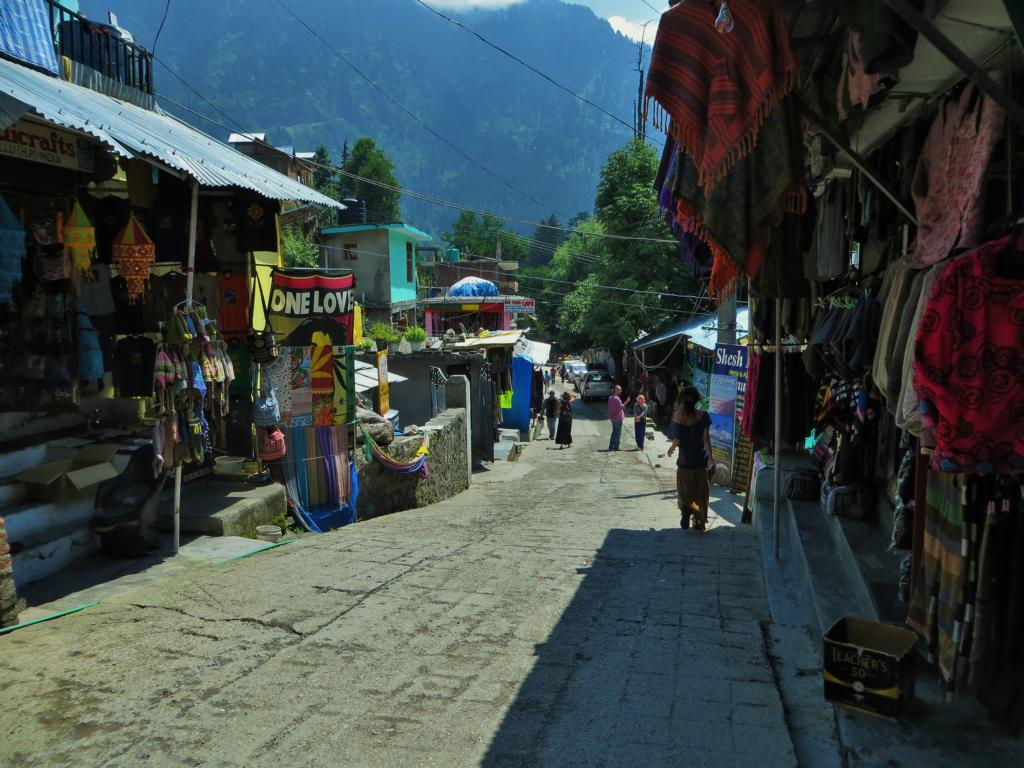Gasse in Old Manali