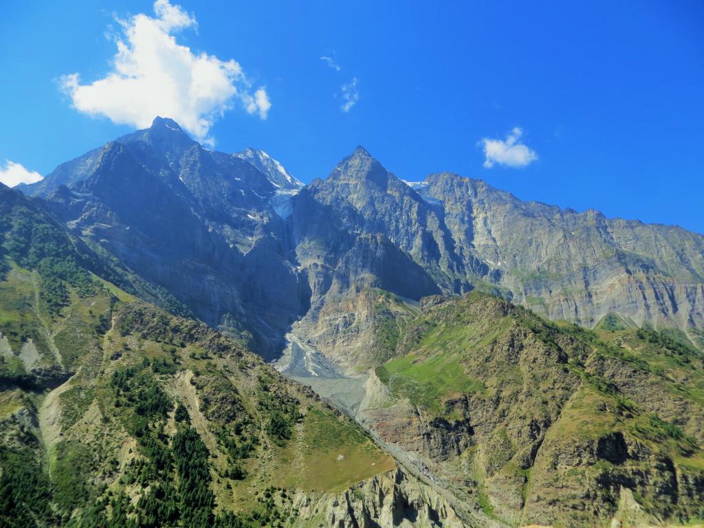 Bergwelt auf dem Weg nach Ladakh