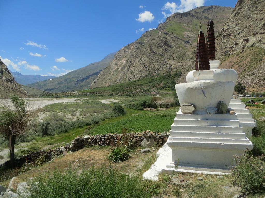 Jispa, ein schöner Ort auf dem Weg nach Ladakh