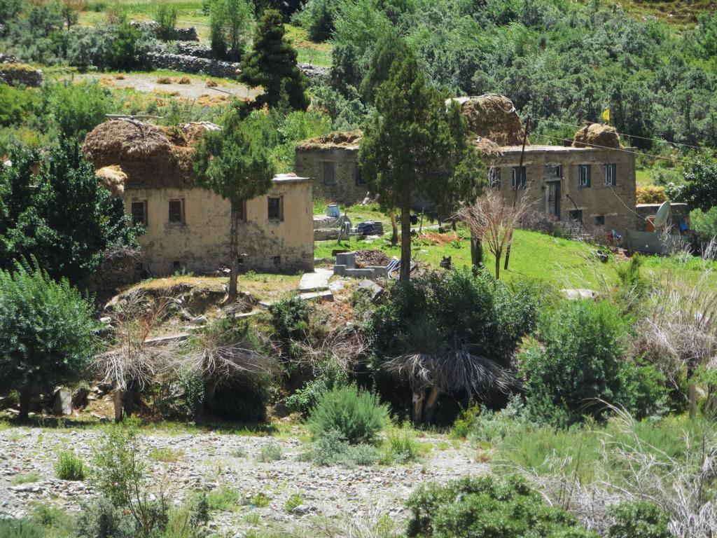 Jispa, ein kleines Dorf bevor es nach Ladakh geht
