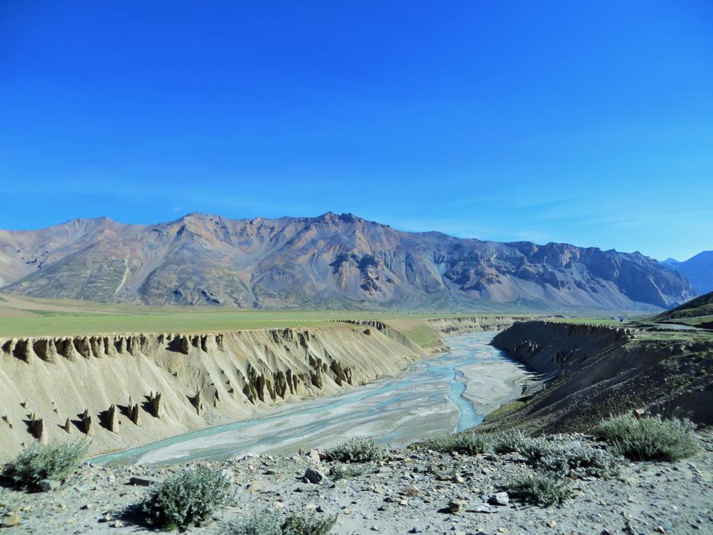 Einzigartige Felsformationen in Ladakh