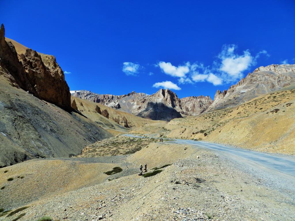 Zauberhafte Gegend in Ladakh