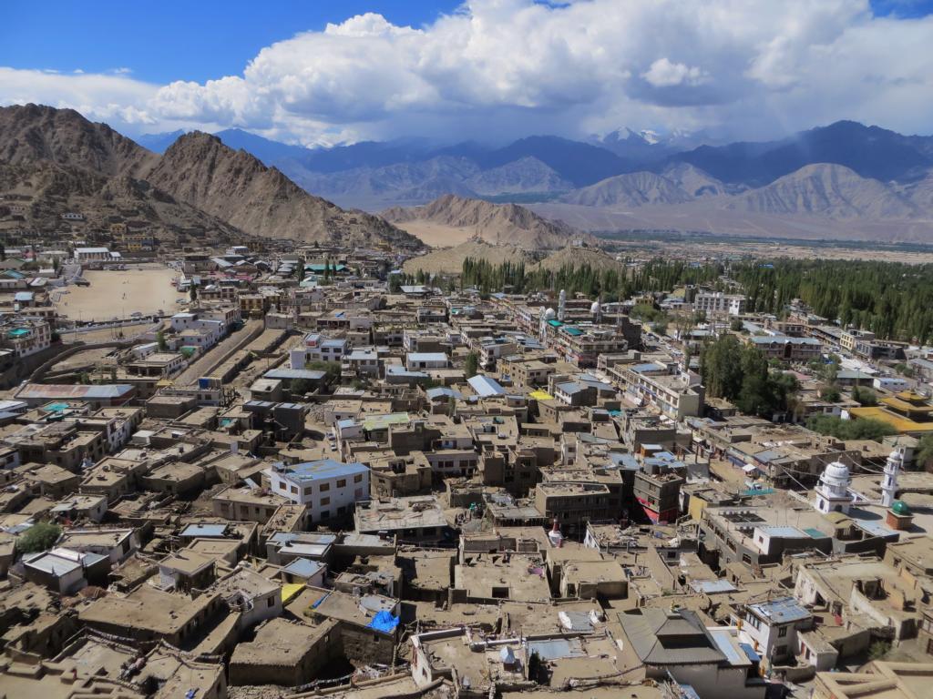 Leh, Stadt im indischen Himalaya