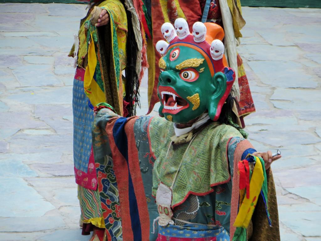 Maskentanz im Kloster Hemis in Leh