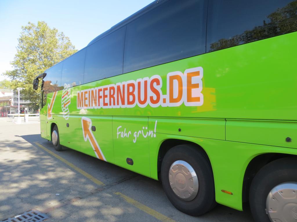 Unterwegs mit MeinFernbus