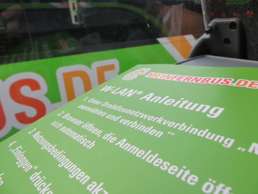 W-LAN in MeinFernbus