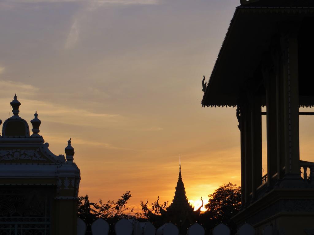 Abendstimmung in Phnom Penh