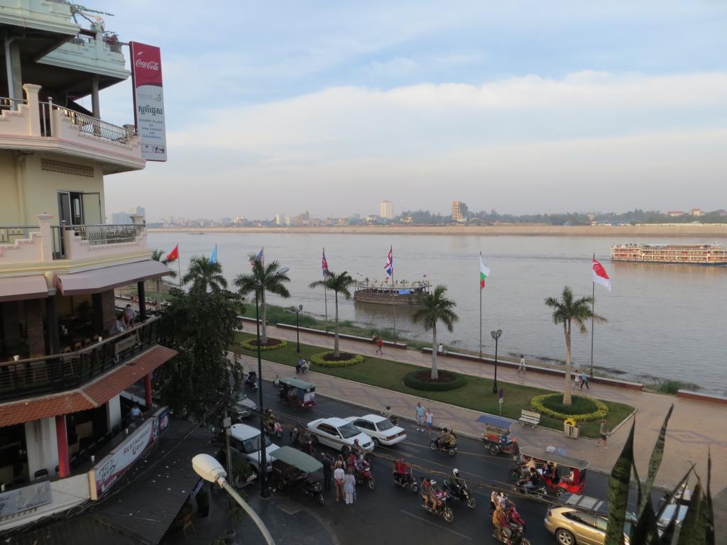 Blick auf Phnom Penh
