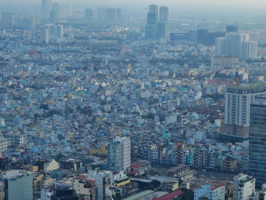 Ho-Chi-Minh City, eine beeindruckende Stadt in Südostasien