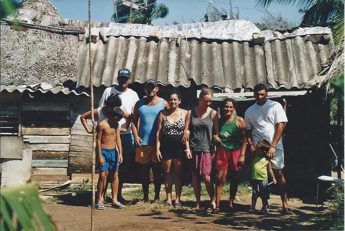 In Kuba bei einer einheimischen Familie
