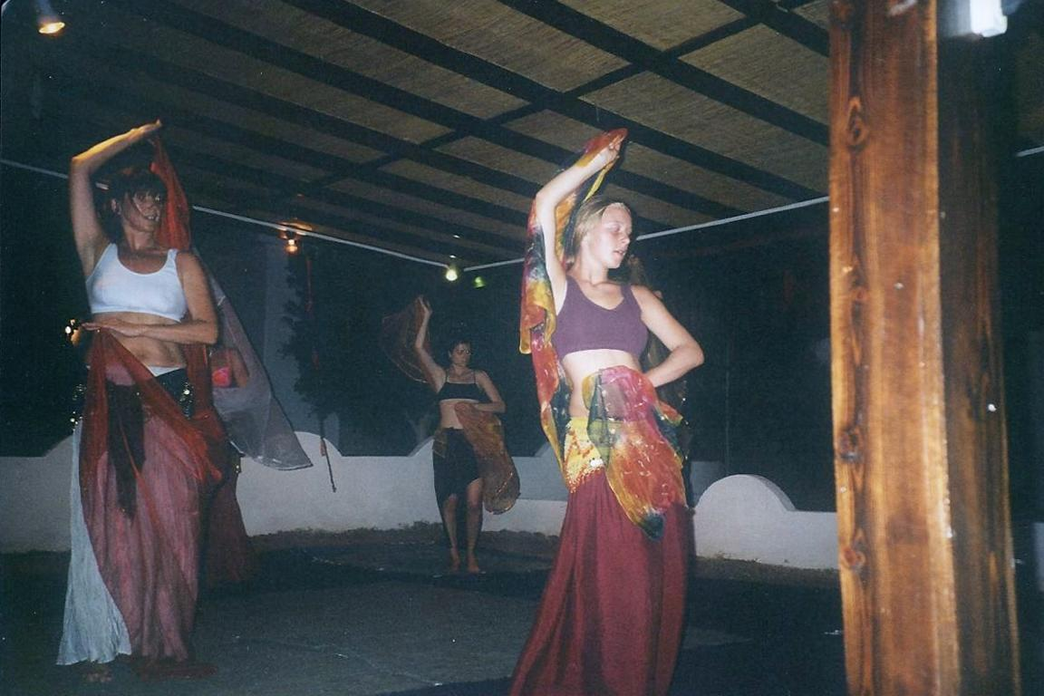 Tanzworkshop in Dahab, Ägypten