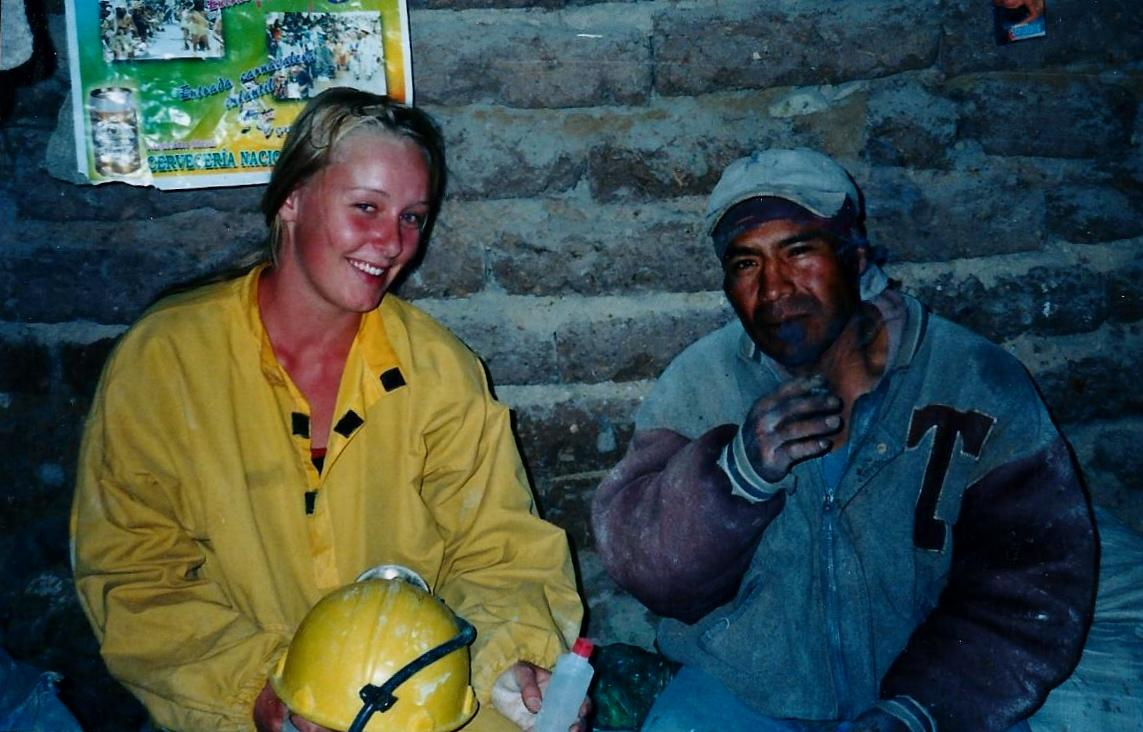In einer bolivianischen Silbermine