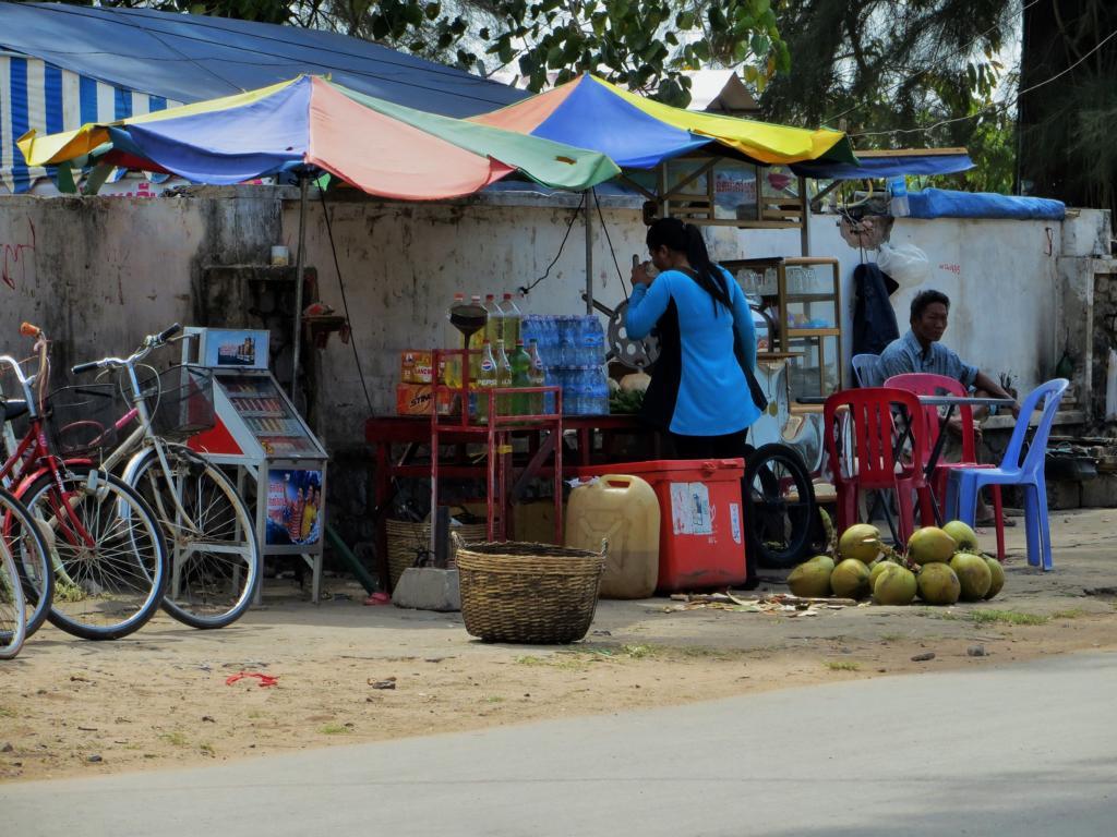 alltägliches Strassenbild in Kambodscha
