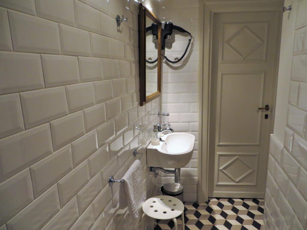 auch im Bad ist ein hoher Standard Voraussetzung