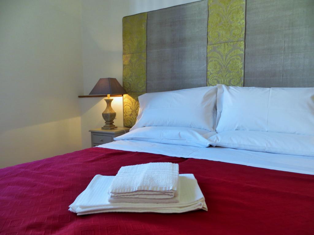 Ein wunderschönes Schlafzimmer im Blue Hostel
