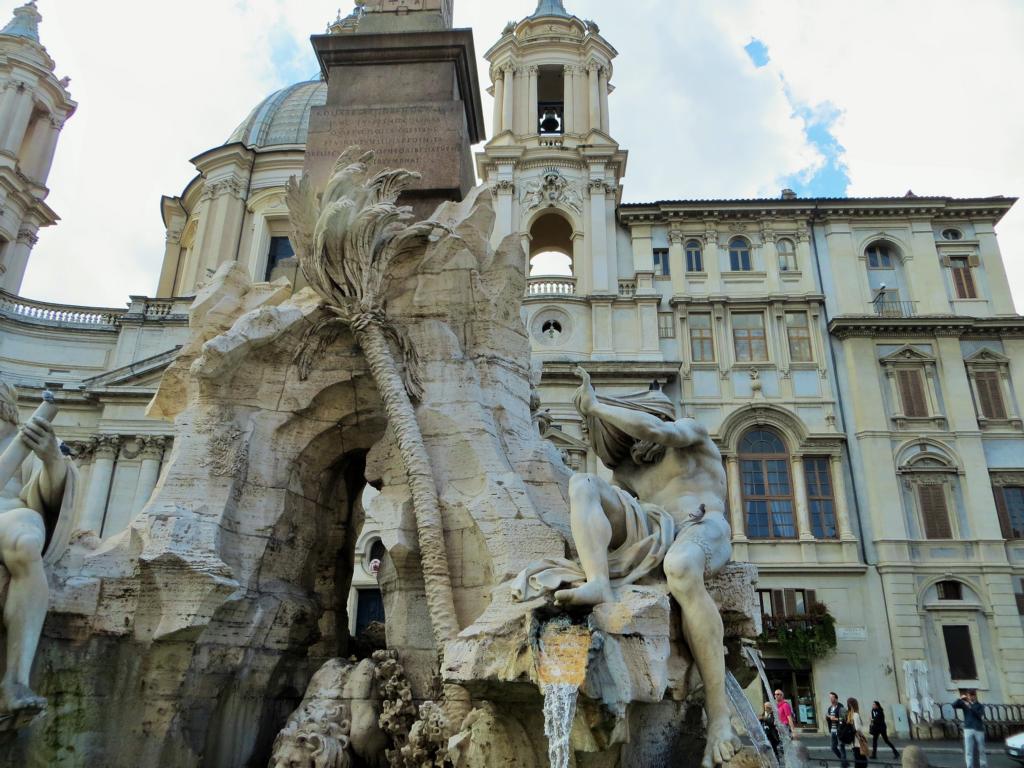 Fontana dei Fiumi in Rom