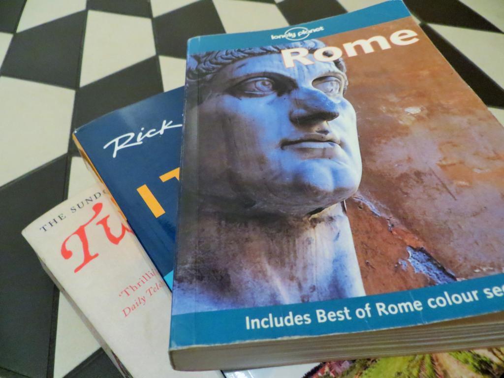 Sogar für Lesestoff ist im Blue Hostel in Rom gesorgt