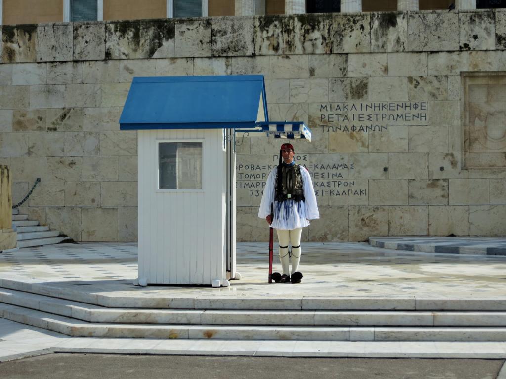 Soldat in Athen