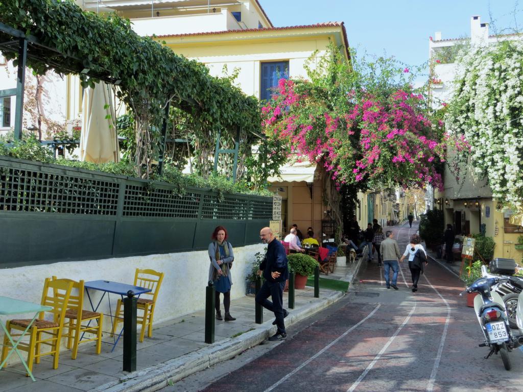 Das Viertel Plaka - Der touristische Mittelpunkt Athens