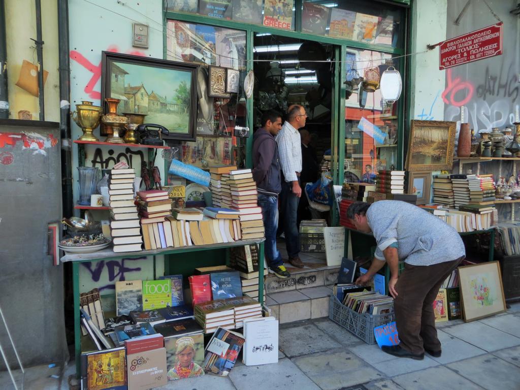 Flohmarkt in Monastiraki