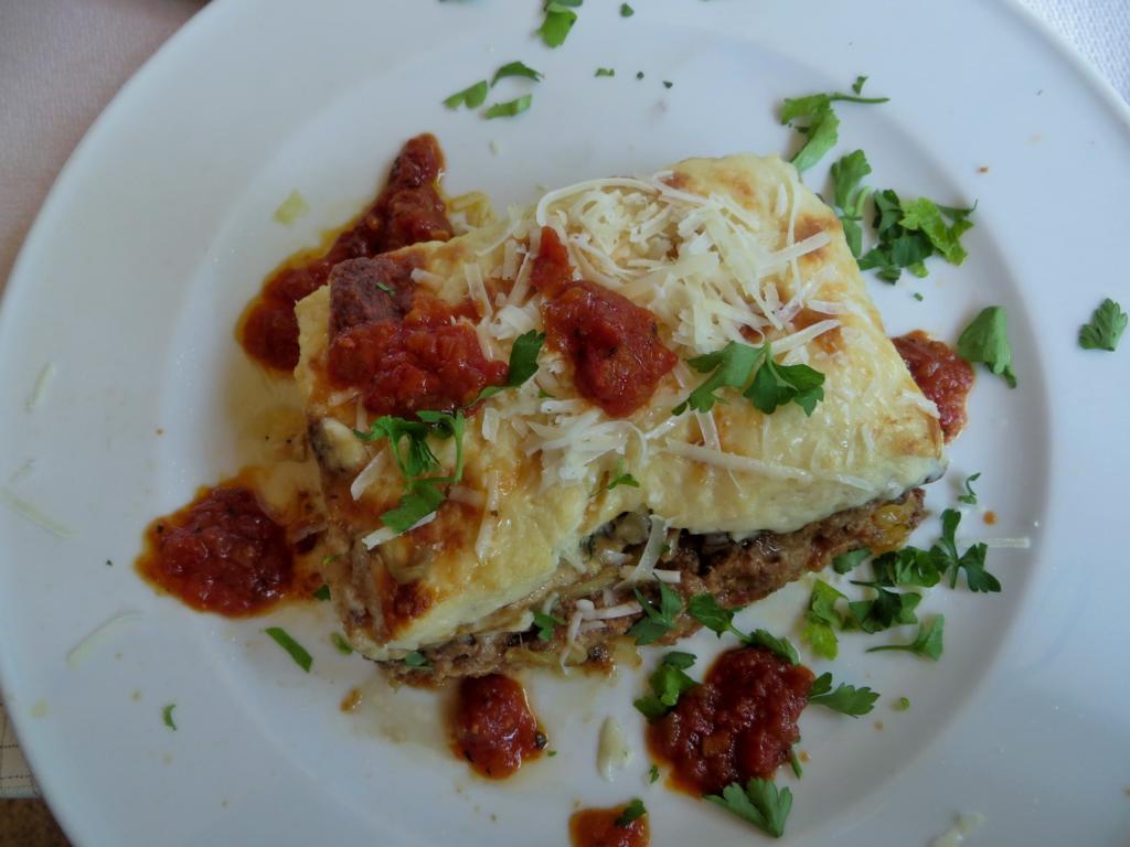 Moussaka, ein beliebtes Gericht in Griechenland