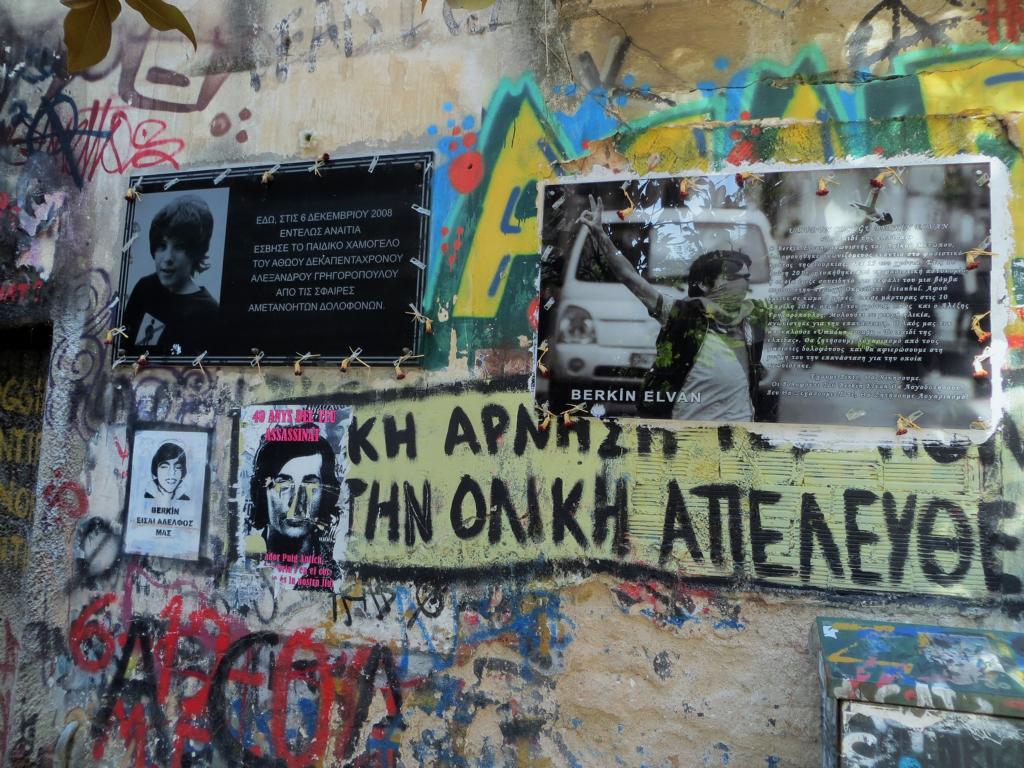 Gedenkstätte für Alexandros Grigoropoulos