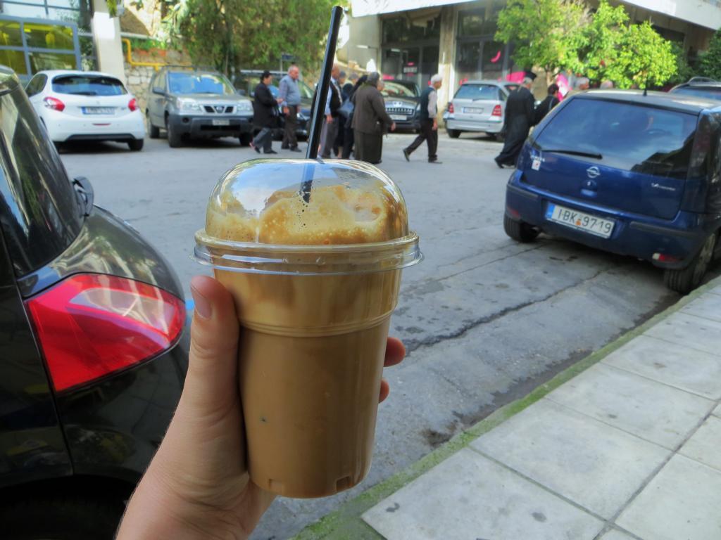 Kaffee ist alles was der Grieche am Morgen zu sich nimmt