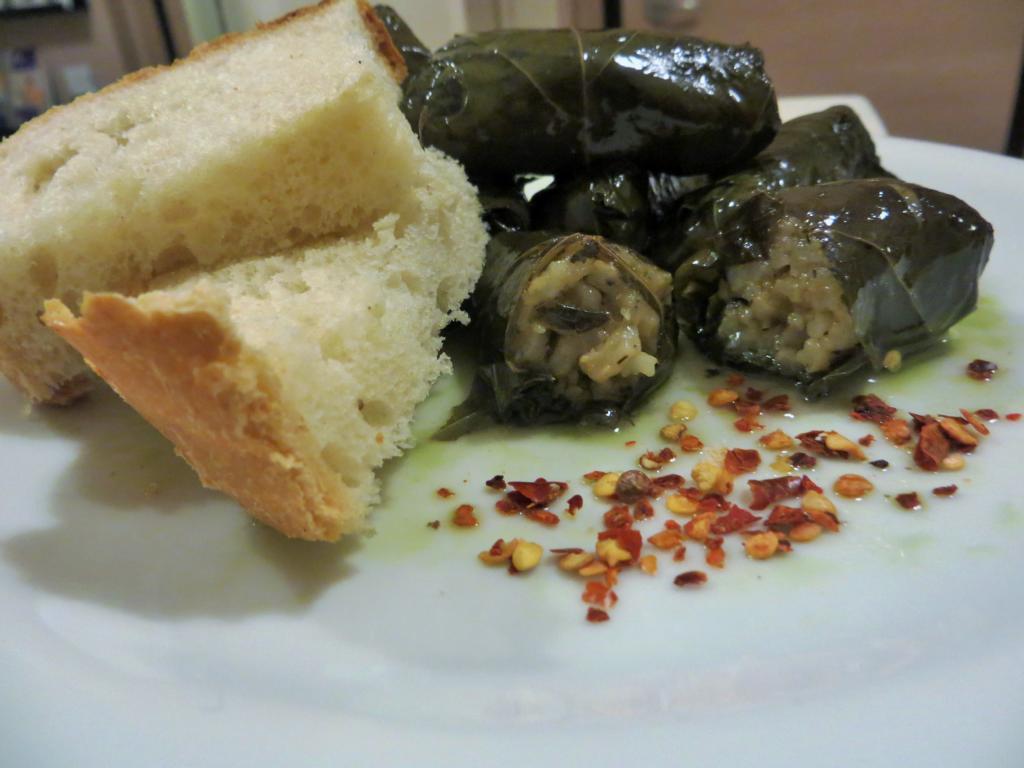 Dolmadaika, eine leckere Speise in Griechenland