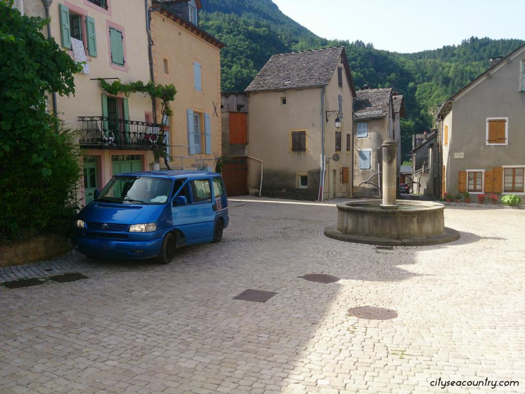 Roadtrip von City Sea Country in Frankreich