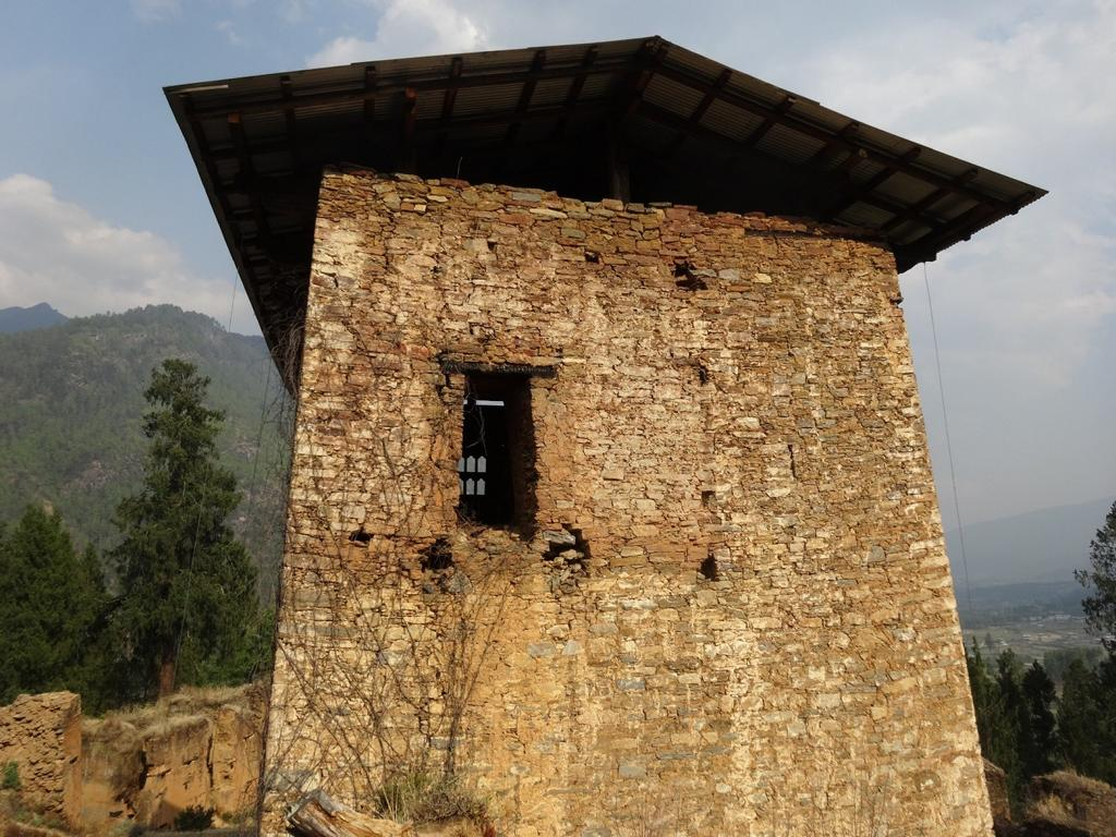 Der Drukyel Dzong westlich von Paro in Bhutan