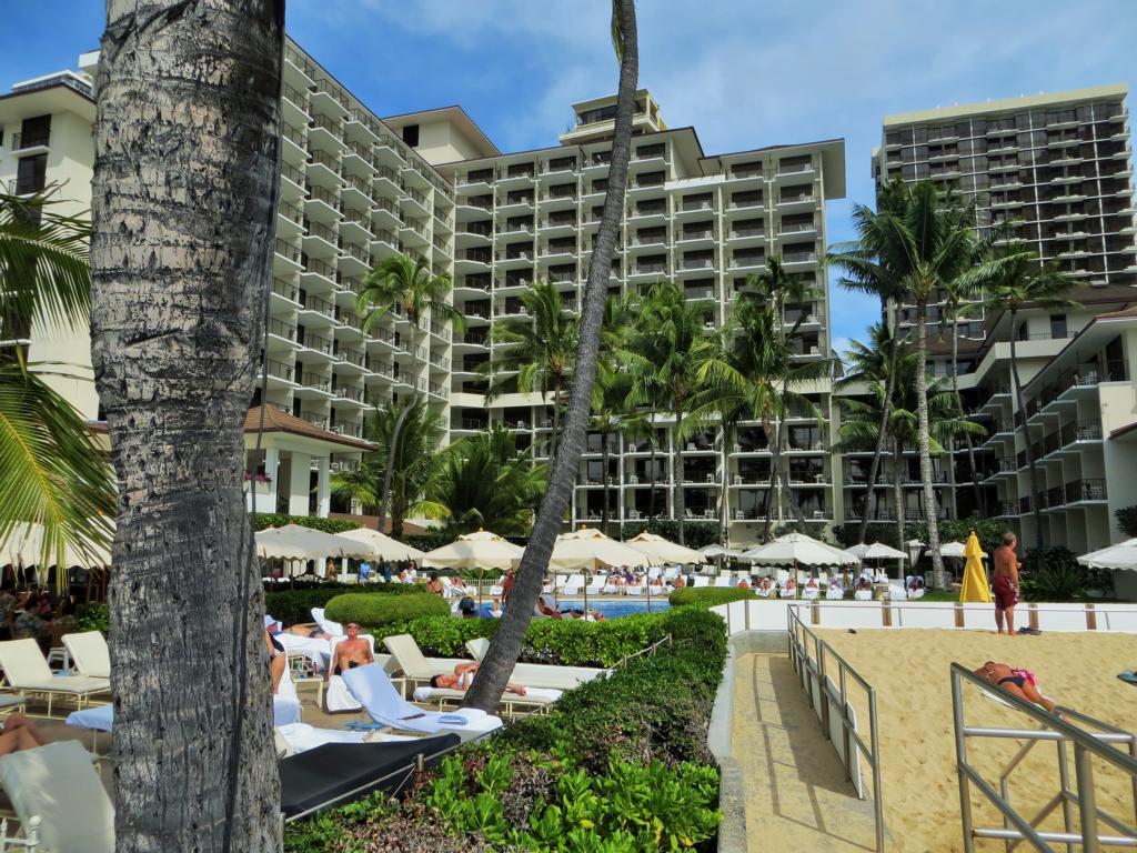 Die weniger schöne Seite Waikikis: riesige Touristenbunker!