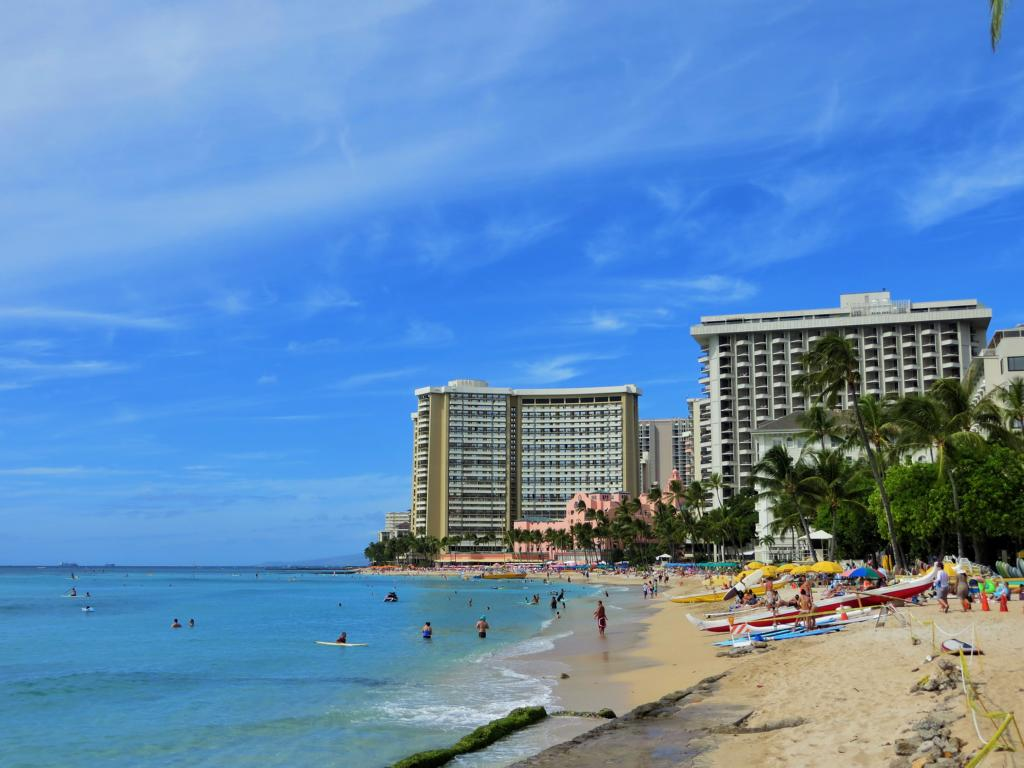 Waikiki Beach, Hotspot in Honolulu