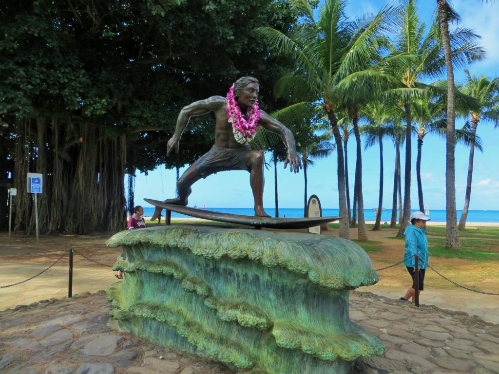 In Waikiki wird Surfen gross geschrieben.