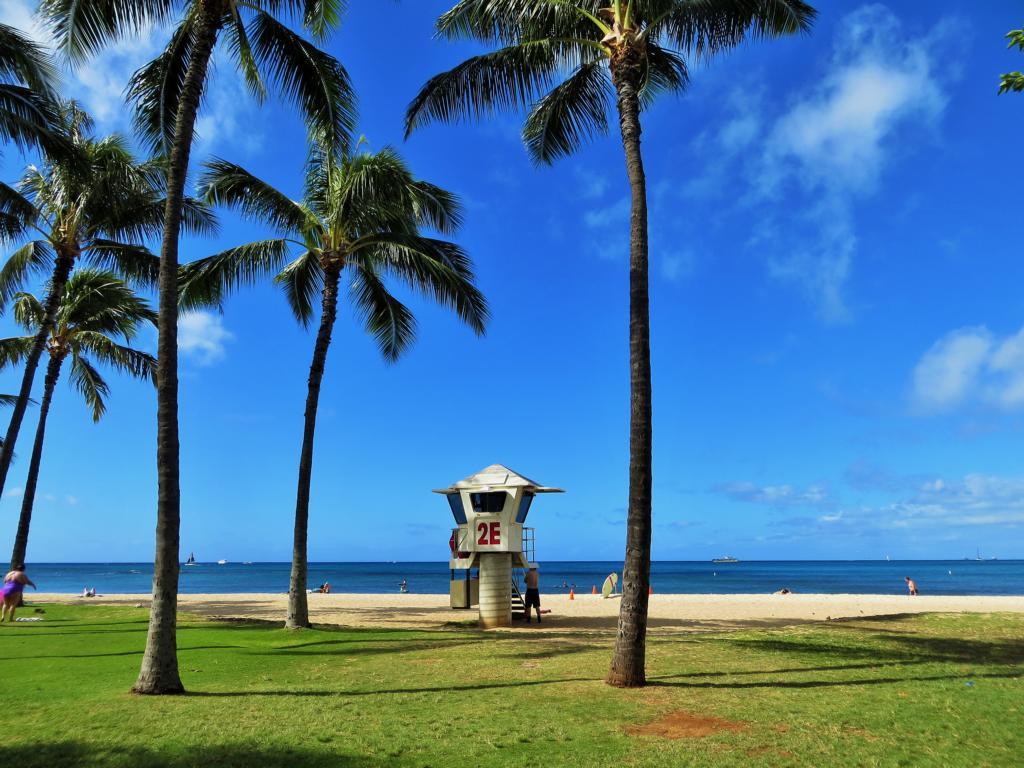 Waikiki Beach, der Name ist Programm!