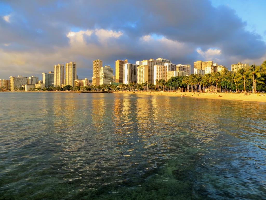 Wunderschön: Honolulu und sein Sonnenuntergang