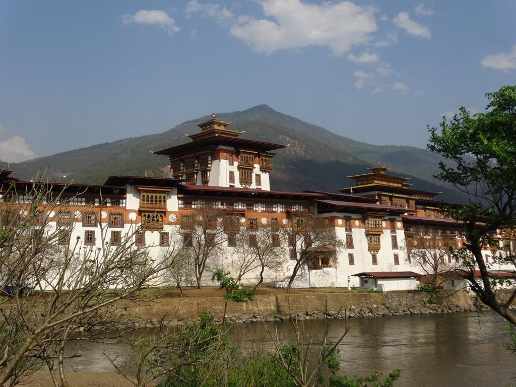 Der Dzong in Punakha