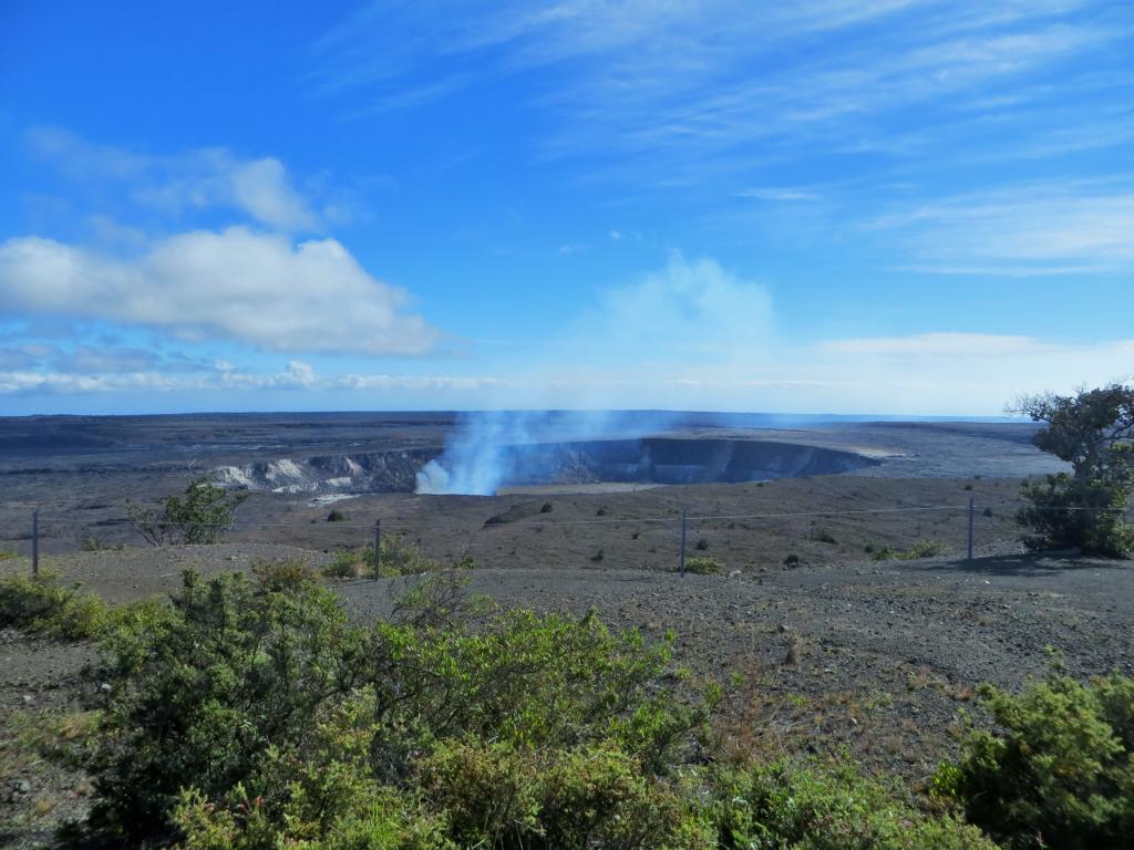 Die Kaldera des Kilauea im Volcanoes National Park