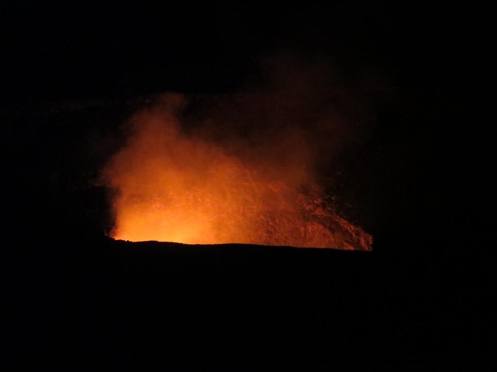 Der Kilauea Krater bei Nacht: Unvergesslich!