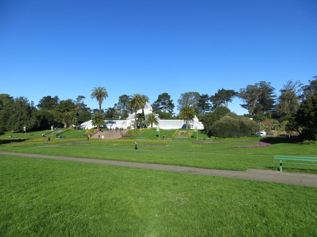 Im Golden Gate Park in San Francisco