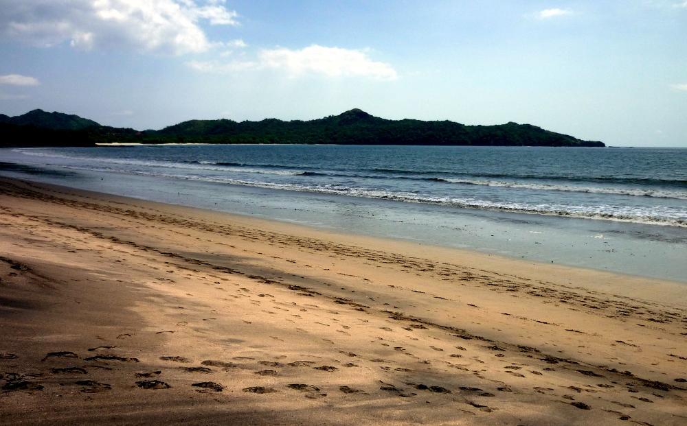 Der Strand von Brasilito auf der Nicoya-Halbinsel in Costa Rica