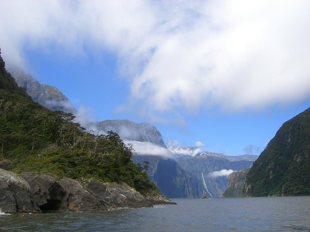Der Fjord Milford Sound in Neuseeland. Foto: Mandy von Go Girl Run